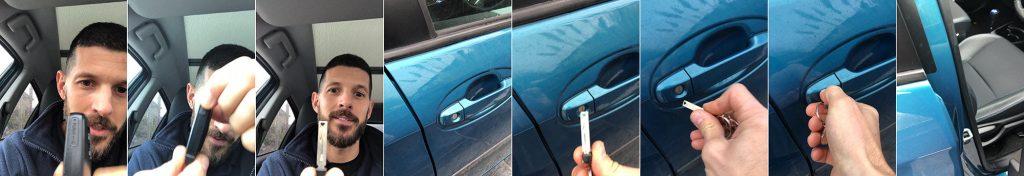Unlock Toyota when battery is flat